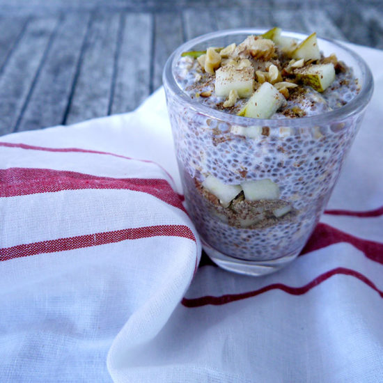 Pear Bircher Muesli