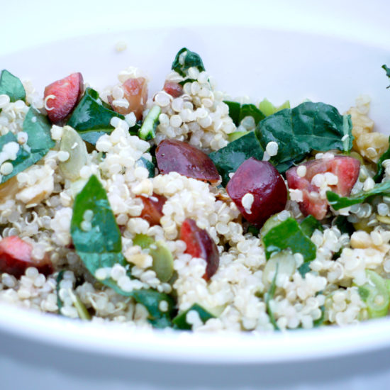 Crazy Quick Cherry Quinoa